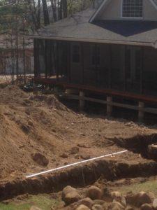 Exterior renovation, Backyard Renovation, Pool Install, Landscaping